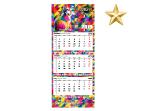 Kalendarze trójdzielne premium