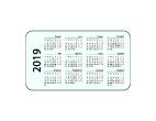 Kalendarzyki listkowe